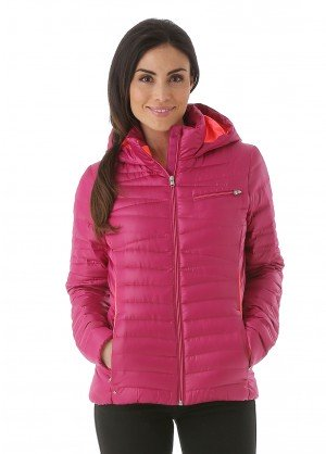 Spyder Womens Timeless Hoody Down Jacket