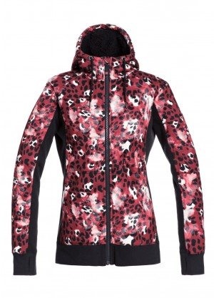 Roxy Womens Frost Printed Fleece Top - WinterWomen.com